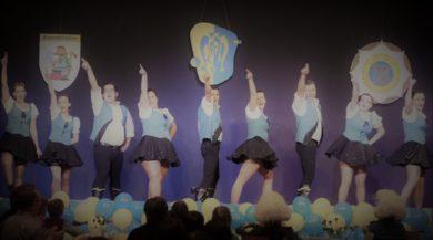 Unsere Tanzgarde bei der Sessionseröffnung 2016
