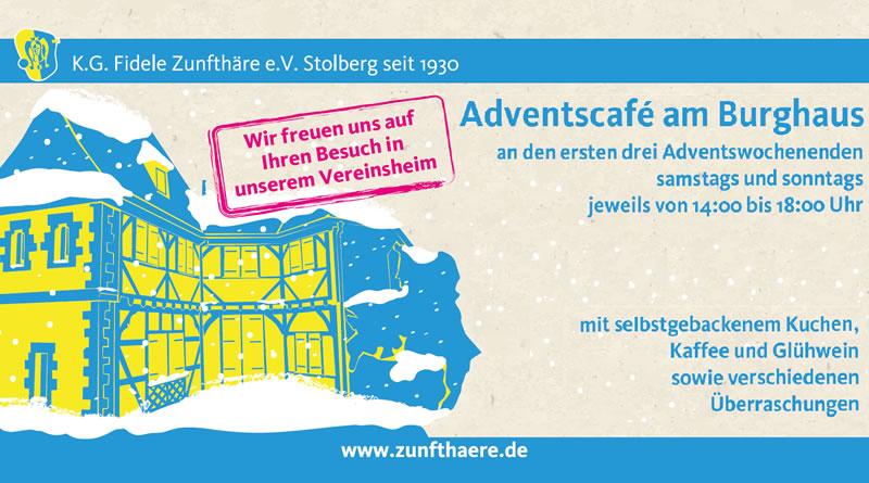 Adventscafé am Burghaus, Stolberg
