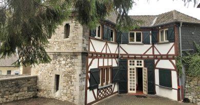 Das Burghaus - Ansicht von Vorne