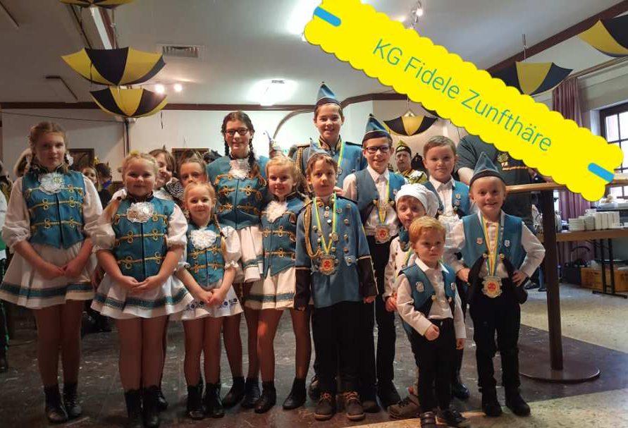 Unsere Kinder- und Jugendgarde