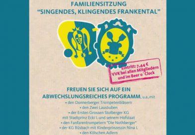 """Familiensitzung """"Singendes, klingendes Frankenthal"""""""
