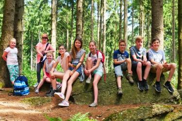 Fuchsjagd - Am Treffpunkt angekommen