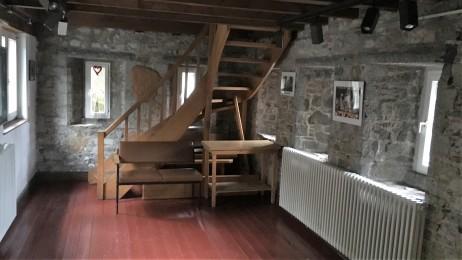 Das Burghaus - Obergeschoss